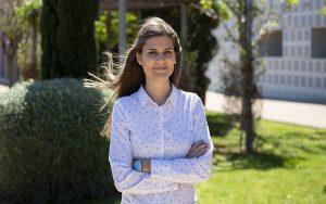 Raquel, ayudante de comunicación en Blast Off Partners